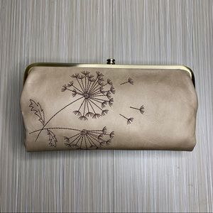 HOBO Lauren Floral Embroidered Clutch Wallet